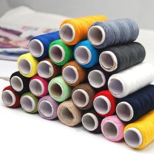 [해외]Gotobuy 24 모듬 된 색상 바느질 퀼트 스레드 스풀 폴리 에스터/Gotobuy 24 Assorted Colors Sewing Quilting Thread Spools Polyester