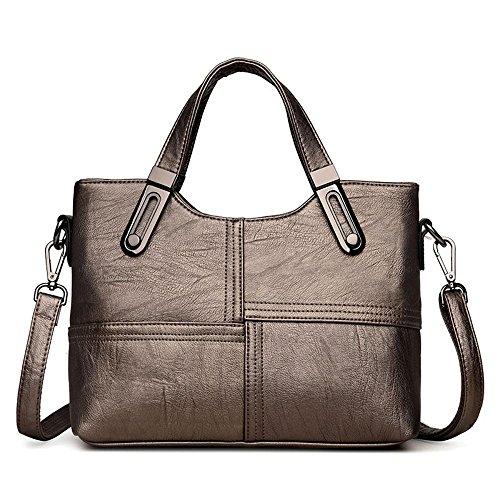 Shoulder Lady Handbag Pu Quality Oblique Fabric Fashion Cross Hundred Square Lap Bag Single E Pack Hongge EWRTUPqgw