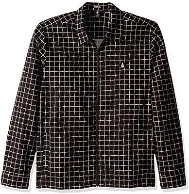 Volcom The Dweller L/S Camisa, Hombre, Black, M: Amazon.es: Deportes y aire libre