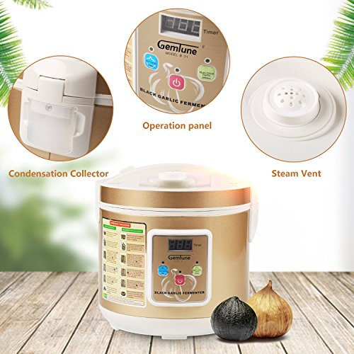 Gemtune Black Garlic Automatic Fermenter, Black Garlic Ferment Box, Garlic Maker Recycle, Intelligent Fermentation Machine, Health Food Maker, Home/Kitchen Utensil by GemTune (Image #3)