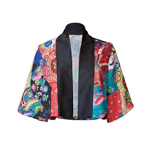 Suyazhi オリジナルデザイン日本語スタイルサンプロテクションジャケット着物カーディガンサマーウエア