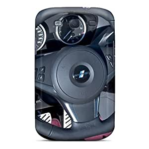 Pollary Case Cover Protector Specially Made For Galaxy S3 Bmw Hartge 645 Ci Steering