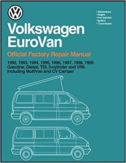 [DIAGRAM_5FD]  Volkswagen Eurovan: Official Factory Repair Manual: 1992, 1993, 1994, 1995,  1996, 1997, 1998, 1999: Gasoline, Diesel, Tdi, 5-Cylinder and Vr6,  Including Multivan and cv(2 Volume Set) by inc. Volkswagen of America (1997-11-03):  Amazon.com: Books | 1997 Vw Eurovan Wiring Diagram |  | Amazon.com