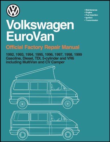 Volkswagen Eurovan: Official Factory Repair Manual: 1992, 1993, 1994, 1995,  1996, 1997, 1998, 1999: Gasoline, Diesel, Tdi, 5-Cylinder and Vr6,  Including Multivan and cv(2 Volume Set) by inc. Volkswagen of America  (1997-11-03): Amazon.com: BooksAmazon.com