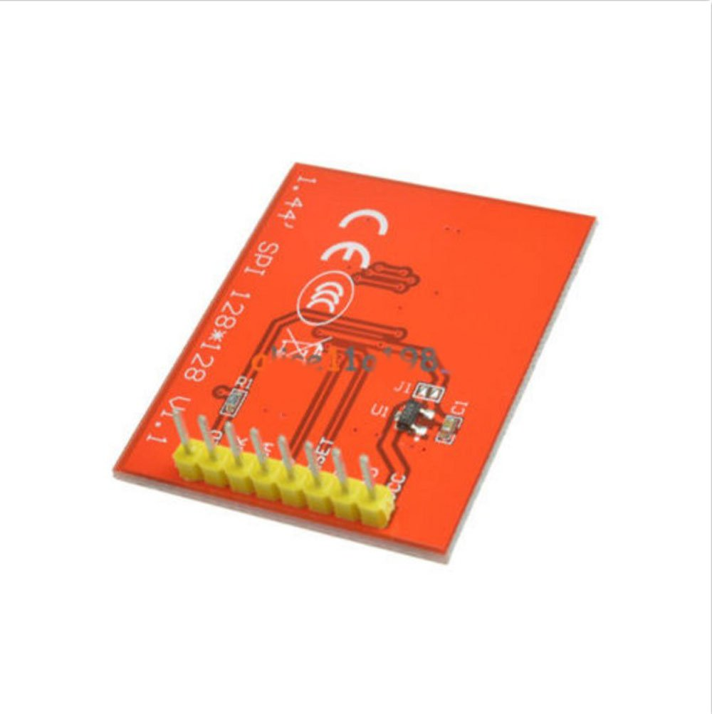 """1.44/"""" Serial SPI 128X128 Red Color TFT LCD Module Display Replace Nokia 5110 LCD"""