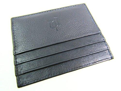 Marron Fin Premium Véritable Pocket Qualité Portefeuille Cuir Crédit Carte Mini Support Noir Id Notecase De Oyster 6grwqTYgR