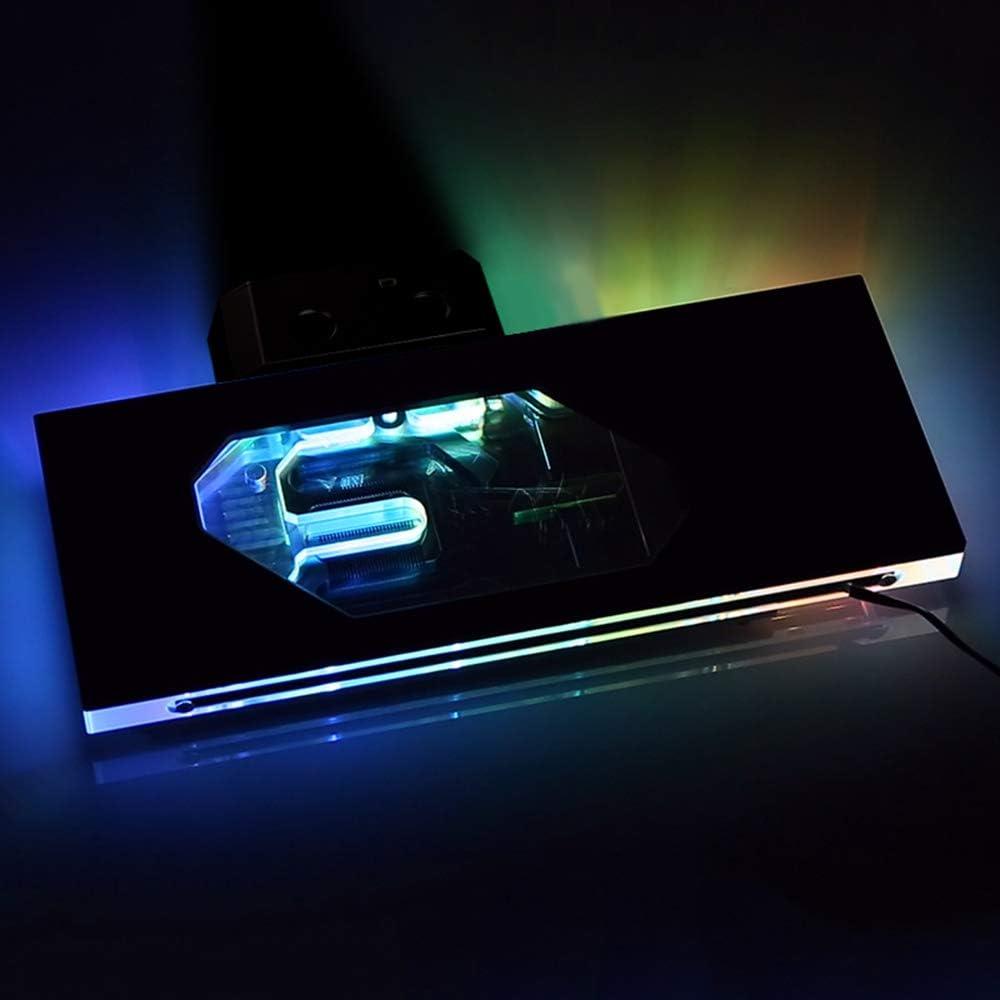 RTX 2080Ti Block Bykski RBW LED Temperature Display GPU VGA Water Cooling Block for NVIDIA ASUS MSI EVGA Galax GIGABYTE Zotac Colorful PNY MAXSUN Palit RTX 2080Ti//2080