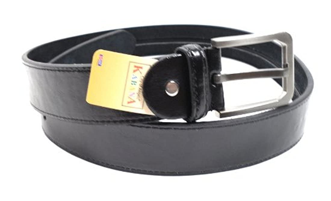 Ceinture en cuir à rabat avec poche intérieure secrète congé ceinture de voyage avec geldfach!