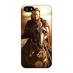 Shock Absorbent Hard Cell-phone Cases For Iphone 5/5s With Allow Personal Design Nice Lord Of The Rings Pattern LavernaCooney