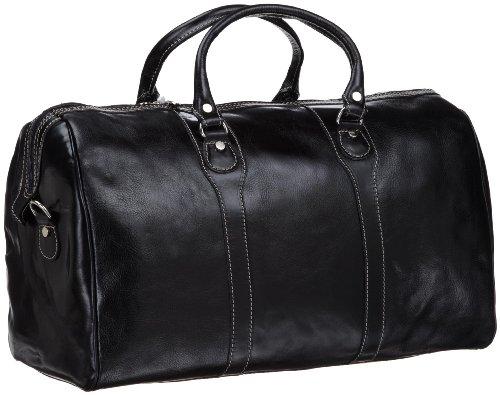 Floto Luggage Milano Duffle Bag, Black, One Size ()