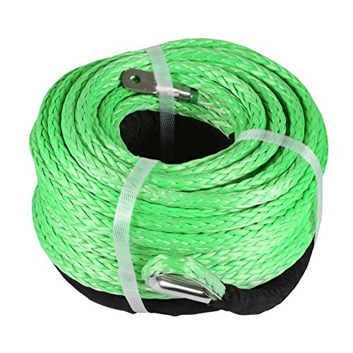 (Mophorn Green Synthetic Winch Line 5/16