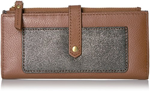 Keely Tab Wallet - Brown/Multi Wallet, One Size