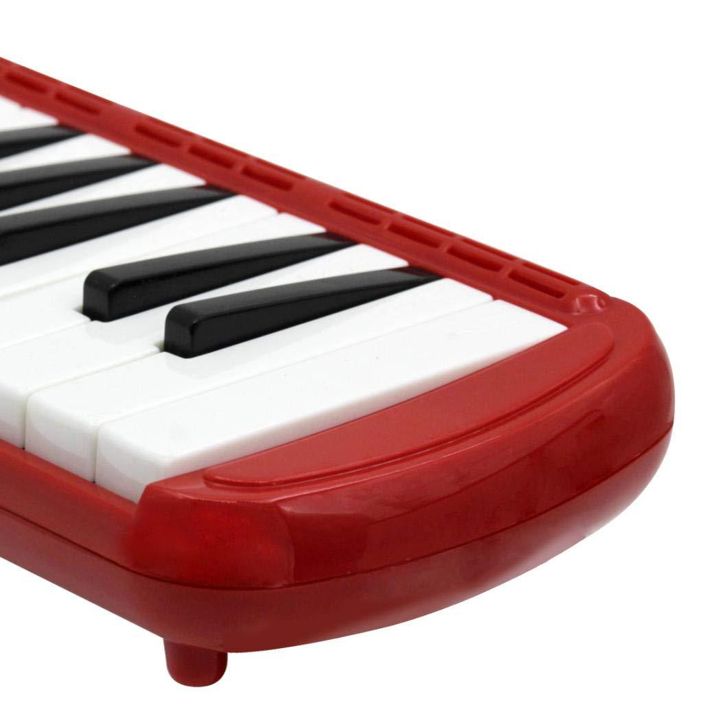 Almencla 37 Key Keyboard Harmonica With Professional Bag Musical Instrument - Red, 48 x 11 x 4.5cm by Almencla (Image #7)