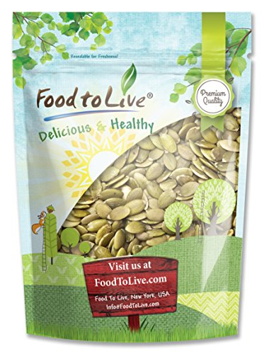 Food to Live Pepitas / Pumpkin Seeds (Raw, No Shell, Kosher) (8 Ounces) (Pumpkin Pepitas Seeds)