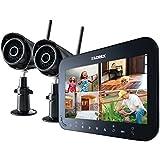 LOREX LW2742  by Flir Wireless 4-Channel Surveillance System with 7'' LCD Screen & 2 Wireless Cameras (Black)