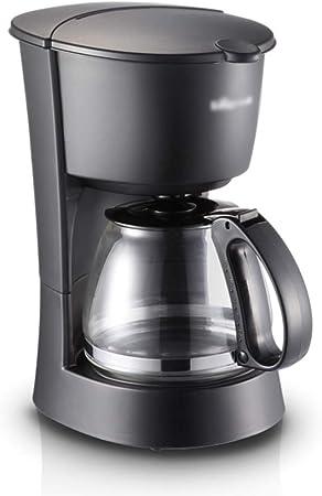 DYS@ Cafetera con Filtro, 550 W, diseño antigoteo, Mantener Caliente, 600 ml por 10 Tazas, sin FBA, Negro: Amazon.es: Hogar
