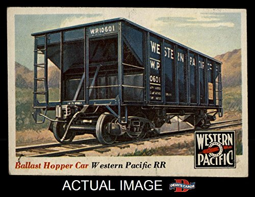 1955 Topps Rails & Sails # 29 Ballast Hopper Car (Card) Dean's Cards 3 - VG 1333525 ()