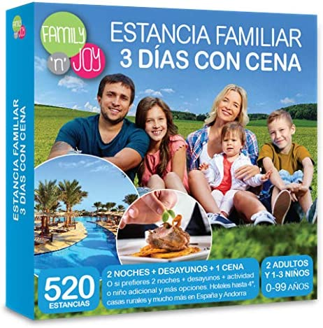 family n joy estancia familiar 3 dias con cena