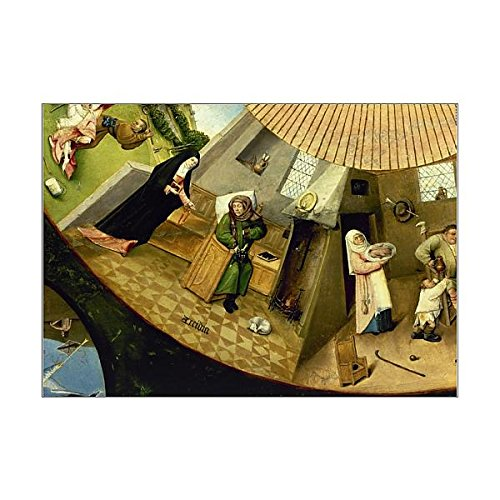 A1 Poster of Table of the Seven Deadly Sins by Hieronymus Bosch (14404090) ()