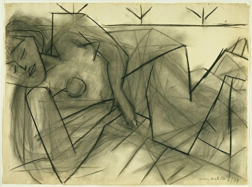 The Museum Outlet - Henri Matisse - Reclining Nude - Poster Print Online Buy (24 X 18 Inch)