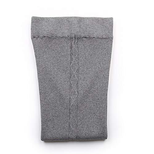 Elástico Pantalón Mujer Sólido Ancho Única Akdyh Punto De Beige Beige Color Talla Tejido Pantalones Alto vqnCwg