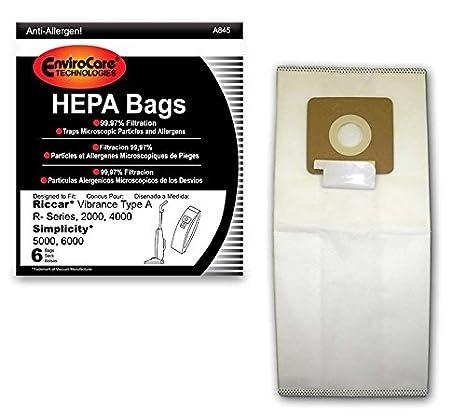 Amazon.com: Envirocare Tecnologías Hepa bolsas bolsas de ...
