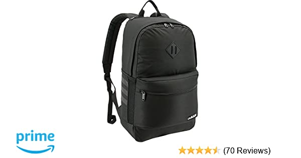 e7b0a14b302 Amazon.com: adidas Classic 3S II Backpack, Black, One Size: Clothing