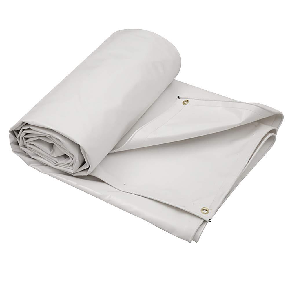 6×5m MDBLYJWinddichtes und kaltes Tuch Sonnenschutztuc Zeltplane des Wasserdichten Planensonnenschutzes im Freien