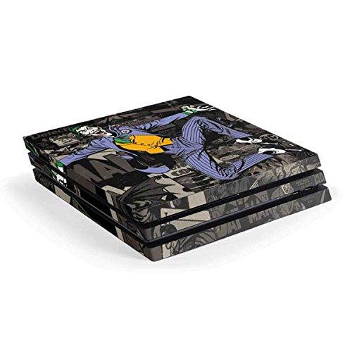 The Joker PS4 Pro Console Skin - The Joker Mixed Media | DC Comics X Skinit Skin