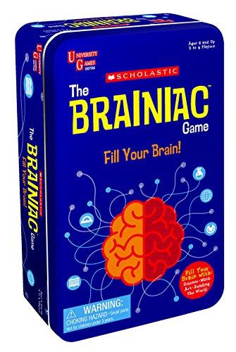 The Scholastic Brainiac Game Tin (Scholastic Games)