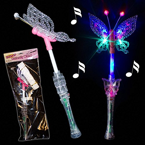 Best fairy wand light up to buy in 2019 for Butterfly wands wholesale