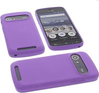 Estuche para Doro 8040 Funda Protectora de Silicona TPU protección para teléfono Lila: Amazon.es: Electrónica