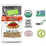GoGo Quinoa Organic Supergrains Fusilli Pasta, Vegan, Gluten Free Dry Pasta, 35.2 Ounce