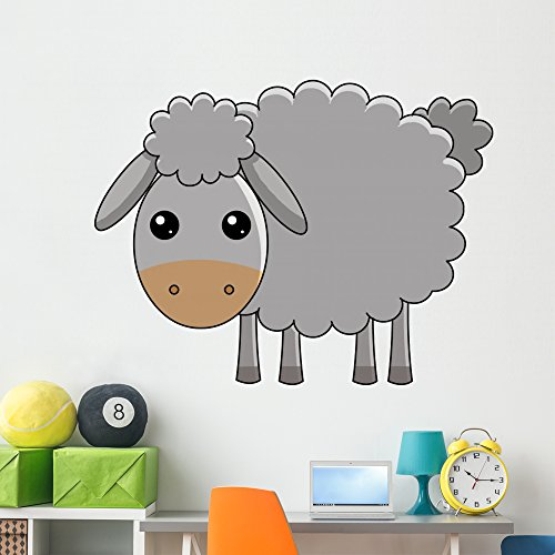 (Wallmonkeys Paschal Lamb Wall Decal Peel and Stick Graphic (60 in W x 43 in H) WM85975)