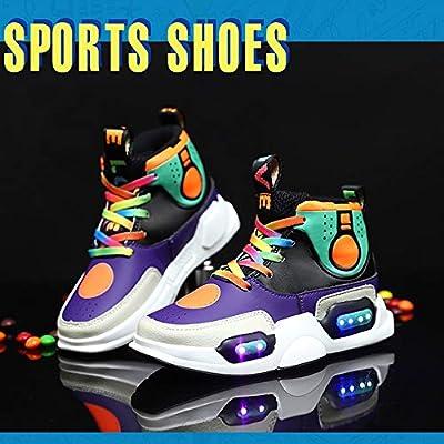Mujer Zapatillas Running 2019, LED Zapatos Niño y Niña, Colores ...