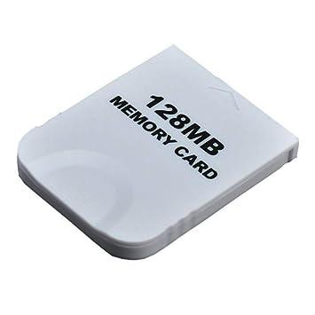 Peak 128 M Tarjeta de Memoria Blanco Competible para Wii y ...