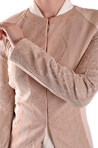 Mujer Elisabetta MCBI113124O Beige Franchi Poliamida Chaqueta q8T8Pn4w
