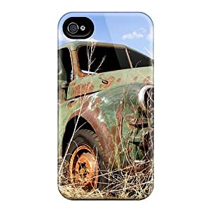 Excellent Design Old Pick Up Phone Case For Iphone 4/4s Premium Tpu Case