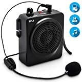 Pyle-Pro Pwma50b 50-Watts Portable Waist-Band Portable Pa System with Headset Microphone, Rechargeable Batteries (ColorBlack)