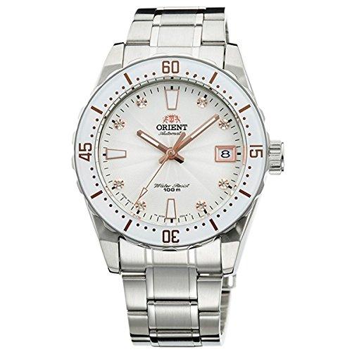 Reloj Orient para Mujer, automático en Acero con circonitas en la Esfera AC0A002W.: Amazon.es: Relojes