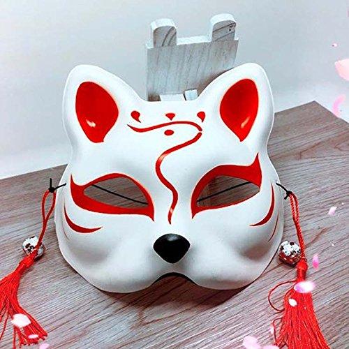 máscara Kitsune de Japón