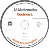 AS Decision Mathematics 1 (D1) Revision DVD (MS Window)