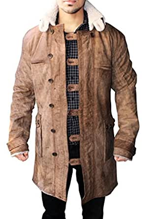 Prime American Leather Products Men's Distressed Bane Jacket 4XL Brown