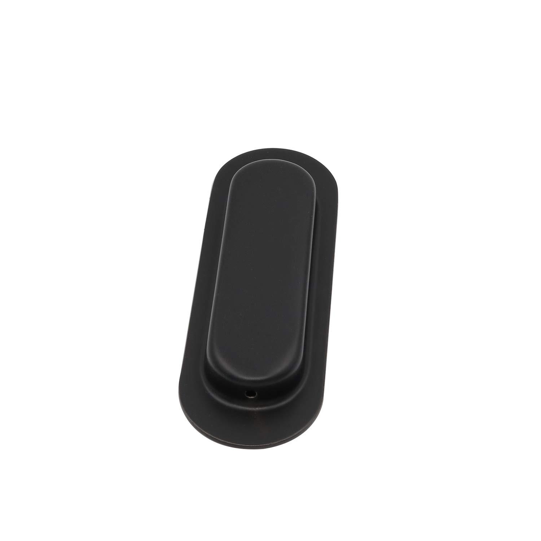 Poign/ées noires encastrables pour portes coulissantes Goldenwarm
