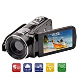 Ckeyin ® FHD 24MP Digital DV Video Camcorder AVI Camera Electronic Anti-shake TFT LCD Screen 18X ZOOM MAX 32GB With Remote control