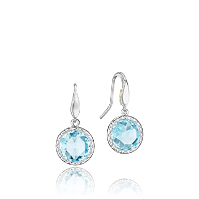 3b4d6480da2206 Image Unavailable. Image not available for. Color: Tacori SE15502 Sterling  Silver Sky Blue Topaz Island Rains Earrings