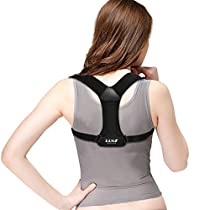 Posture Corrector Brace, GROOFOO Back Posture Brace for Women & Men to Improve Bad Posture & Relieve Back Pain, GF005