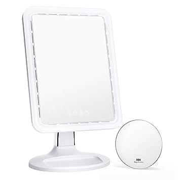 Amazon Com Kedsum 10 5 Inch Bigger Lighted Makeup Mirror With Fan