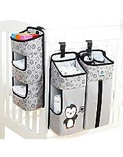 Hanging Diaper Organization Caddy Storage Organizer Storage Bag Hang on Crib Baby Nursery Shower Gift Hanging Changing Table Diaper Stacker