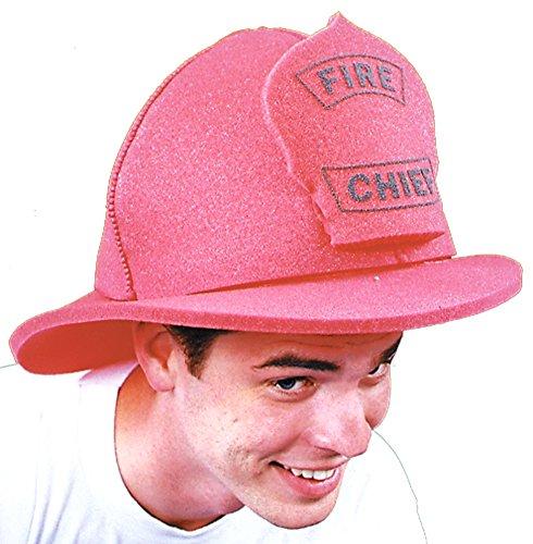 Halloween Costumes Item - Fire Chief Hat Foam